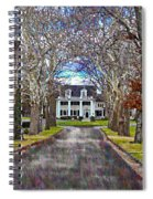 Southern Gothic Spiral Notebook