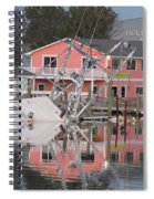 Southern Lady At Rest  Spiral Notebook