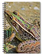 Southern Leopard Frog Spiral Notebook