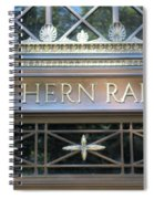 Southern Railway Building Spiral Notebook