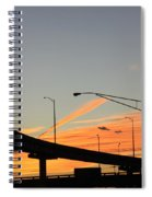 Southern Sunsets Spiral Notebook
