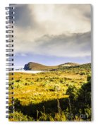 Southern Tip Of Bruny Island Spiral Notebook