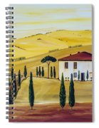 Southern Tuscany Spiral Notebook