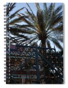 Southernmost Hotel Entrance In Key West Spiral Notebook