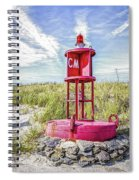 Southernmost Point Buoy- Cape May Nj Spiral Notebook