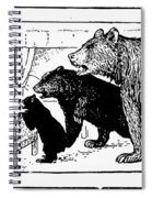 Southey: Three Bears, 1892 Spiral Notebook
