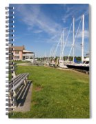 Southport Harbor Connecticut Spiral Notebook