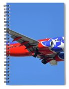 Southwest 737-7h4 N922wn Tennessee One Phoenix Sky Harbor November 28 2017 Spiral Notebook