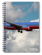 Southwest Airlines Boeing 737-700 Spiral Notebook