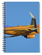 Southwest Boeing 737-7h4 N781wn New Mexico One Phoenix Sky Harbor November 11 2017 Spiral Notebook