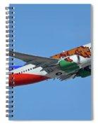 Southwest Boeing 737-7h4 N943wn California One Phoenix Sky Harbor October 16 2017 Spiral Notebook