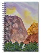 Southwest Landscape II Spiral Notebook
