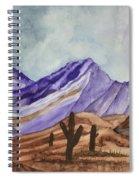 Southwest Landscape IIi Spiral Notebook