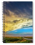 Southwest Nebraska Chase Day 046 Spiral Notebook