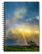 Southwest Nebraska Chase Day 047 Spiral Notebook