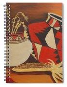 Southwest Pottery Spiral Notebook