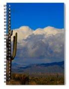 Southwest Saguaro Desert Landscape Spiral Notebook