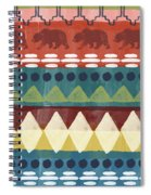 Southwest With Bears- Art By Linda Woods Spiral Notebook