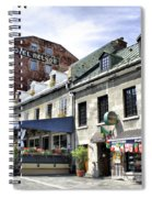 Souvenirs Montreal Spiral Notebook