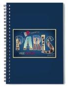 Souvernirs De Paris Spiral Notebook