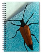 Space Age Beetle Spiral Notebook