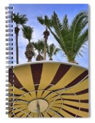Space Age Salad Bar Spiral Notebook
