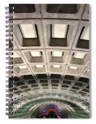 Space Age Underground  Spiral Notebook