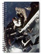 Space: Apollo 9 Spiral Notebook
