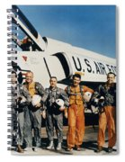 Space: Astronauts, C1961 Spiral Notebook