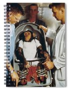 Space: Chimpanzee, 1961 Spiral Notebook
