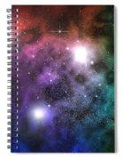 Space Clouds Spiral Notebook