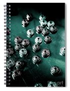 Space Craft Connectors Spiral Notebook