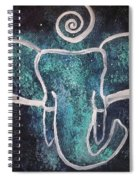 Space Elephant Spiral 2 Spiral Notebook