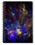 Space Flower Spiral Notebook