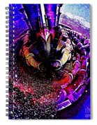 Space In Another Dimension Spiral Notebook