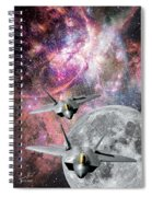 Space Invaders Spiral Notebook