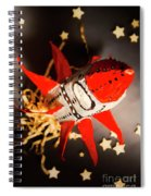Space Launch To Seek And Discover Spiral Notebook