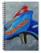 Space Patrol Spiral Notebook