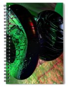 Space Reflections Spiral Notebook