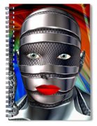 Studio Woman Render 14 Spiral Notebook
