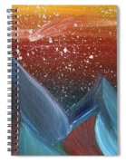 Space Scape Spiral Notebook