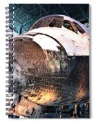 Space Shuttle Discovery View No. 2 Spiral Notebook