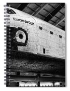 Space Shuttle Endeavour 2 Spiral Notebook