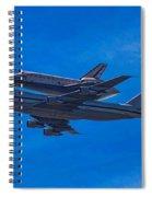 Space Shuttle Endevour Spiral Notebook