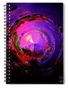 Space Spiral Spiral Notebook