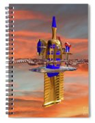 Space Station 3 Spiral Notebook