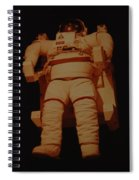 Space Suit Spiral Notebook