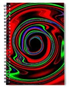 Space Twister Spiral Notebook