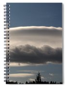 Spacecloud Spiral Notebook