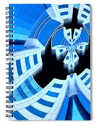 Spaced Spiral Notebook